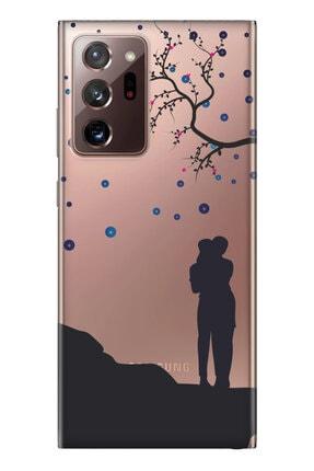 cupcase Samsung Galaxy Note 20 Ultra Kılıf Desenli Silikon Telefon Kapak 0