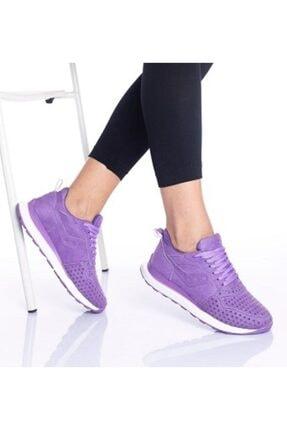 By Ramon Caliente Kadın Lila Günlük Spor Ayakkabı 0