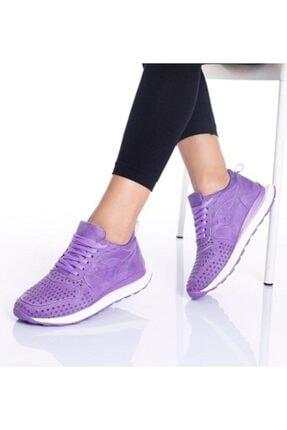 By Ramon Caliente Kadın Lila Günlük Spor Ayakkabı 1