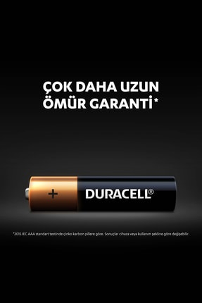 Duracell Pil Aaa İnce Kalem 12Li (9+3) 2