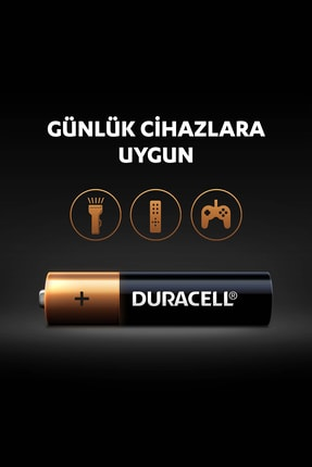 Duracell Pil Aaa İnce Kalem 12Li (9+3) 3