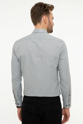 Pierre Cardin Erkek Gri Slim Fit Gömlek 2