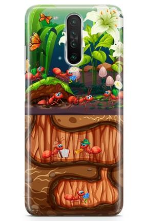 Lopard Xiaomi Redmi K30 5g Kılıf Karınca Yuvası Arka Kapak Koruma Desenli Full Koruyucu 0
