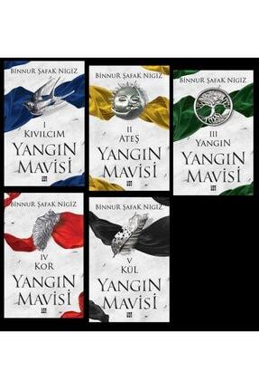 Dokuz Yayınları Yangın Mavisi Set 5 Kitap- Binnur Nigiz 0