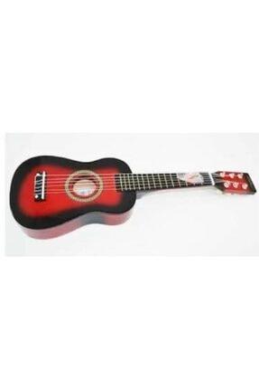 gonzales Kırmızı 1/8 Ölçek 6 Telli Çocuk Gitarı U202-rd 0