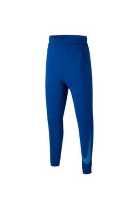 Nike Erkek Çocuk Mavi Eşofman Altı Cj7828-480 0