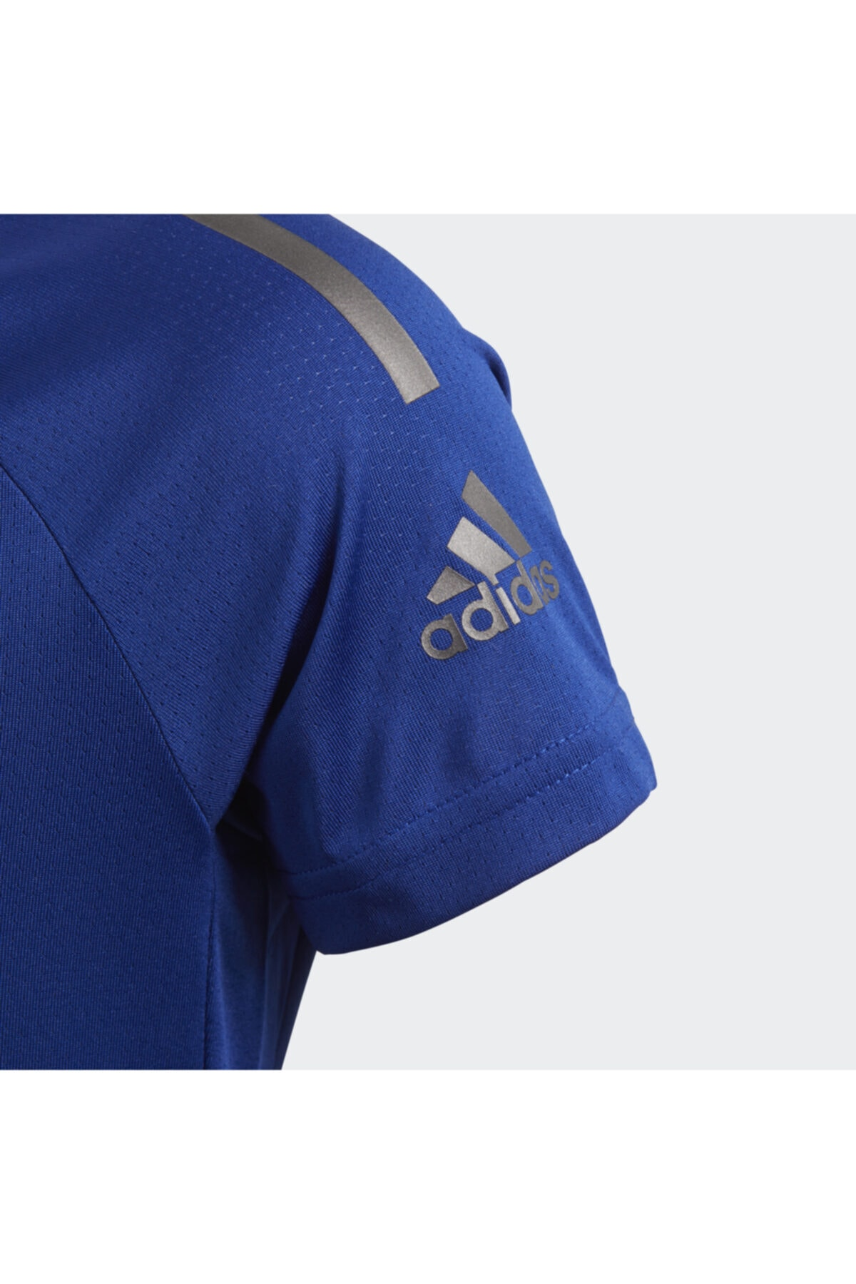 adidas Kız Çocuk Mavi T-Shirt DJ1077