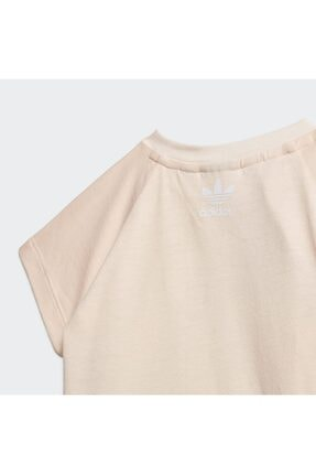 adidas Large Trefoil Çocuk  T Shirt 4