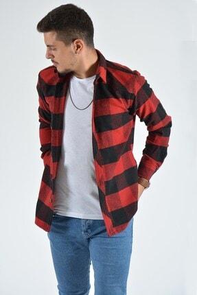 Terapi Men Erkek Kırmızı Oduncu Gömleği 0