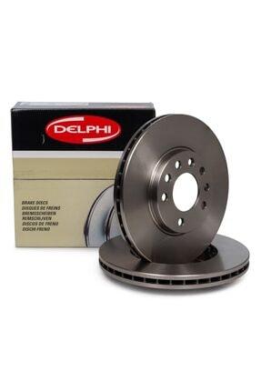 DELPHİ Opel Zafira A 5 Bijon Ön Fren Disk Takımı (delphı) 0