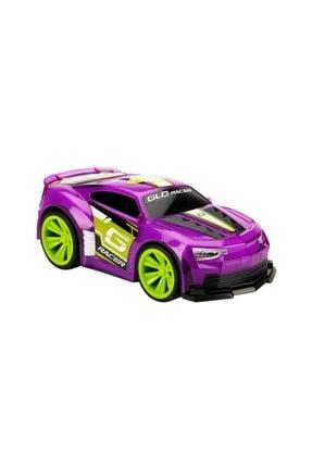 Sunman Sesli Ve Işıklı Glo Racer Çek Bırak Araba 18 cm 4