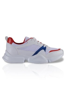 inderi Kadın Beyaz Spor Ayakkabı 0