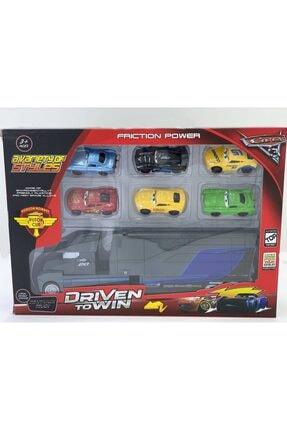 Cars Arabalar 3 Jackson Taşıyıcı Tır Ve 6 Metal Arabalı Oyun Seti 1