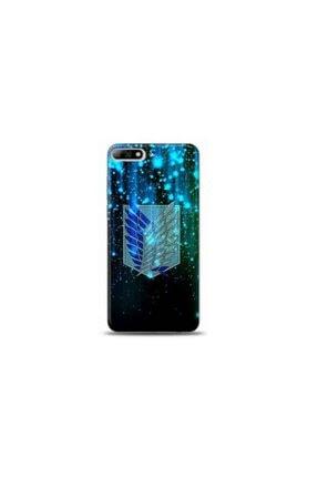 Kılıf City Huawei Y6 2018 Attack On Titan Tasarımlı Telefon Kılıfı 0