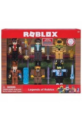 DLN Roblox Büyük 6 Adet Figür 7 Adet Aksesuar Oyuncak Set 0