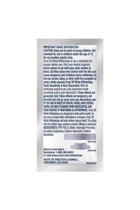 CREST 3d White Luxe Whitestrip Diş Beyazlatma Kiti 3