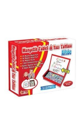 Diytoy Manyetik Tablet Alfabe Seti Yazı Tahtası 0