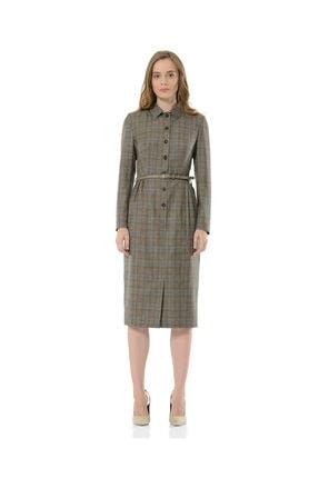BİRELİN Kadın Gri Melba Elbise 0