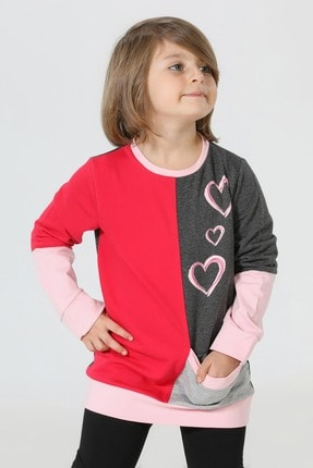 ZENOKIDO Kalpler Kız Sweatshirt 0