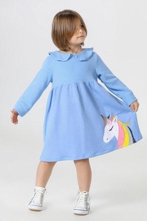 ZENOKIDO Unicolor Yakalı Elbise 0