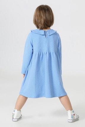 ZENOKIDO Unicolor Yakalı Elbise 1