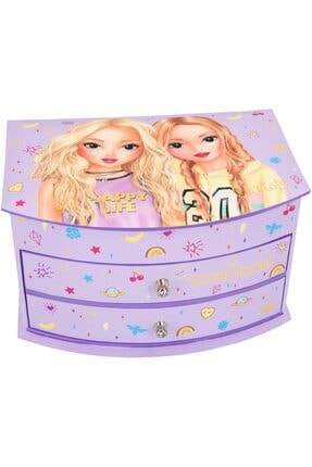 Top Model Jewellery Box Big Purple Mücevher Kutusu 0