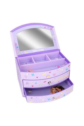 Top Model Jewellery Box Big Purple Mücevher Kutusu 1