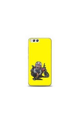 Kılıf Madeni Xiaomi Mi 6 Motorcu Sarı Koleksiyon Telefon Kılıfı Y-srklf051 0