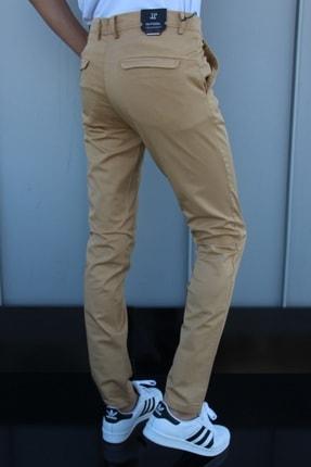 inpool Erkek Kahverengi Gabardin Pantolon 2