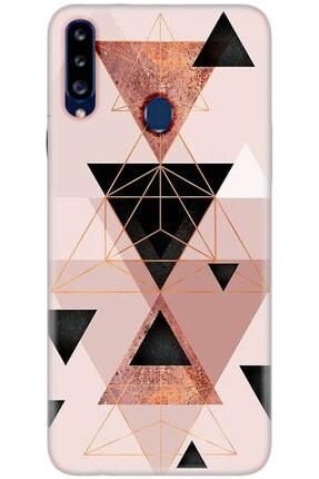 Noprin Samsung Galaxy A20e Kılıf Silikon Baskılı Desenli Arka Kapak 0