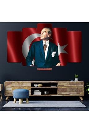 Zevahir Mobilya Dekorasyon Zevahir Mdf Atatürk Baş Öğretmen Bayrak Tablo 0