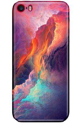 Turkiyecepaksesuar Apple Iphone 5 Kılıf Silikon Baskılı Desenli Arka Kapak 0