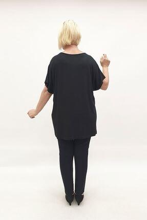 MİRAGGİO BÜYÜK BEDEN Bluz 92958 Siyah 2