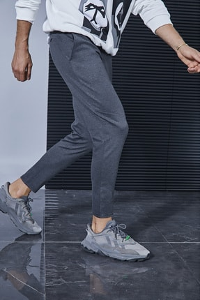 Sateen Men Erkek Antrasit Jogger Pantolon 0