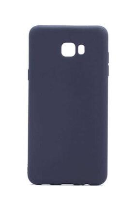 Dijimedia Galaxy C7 Pro Kılıf Premier Silikon Mürdüm 1