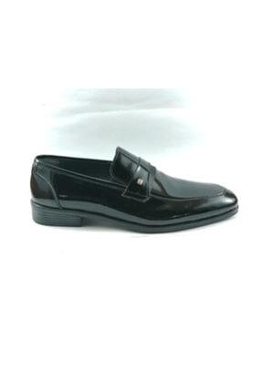Erkek Siyah Deri Rugan Ayakkabı DNF05