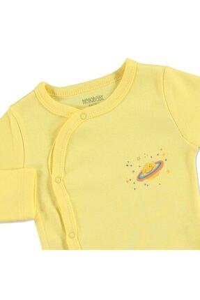 HelloBaby Yaz Erkek Bebek Uzun Kol Zıbın Body 1