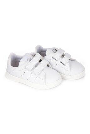 تصویر از Unisex Bebek Beyaz Tam Ortopedik Ilk Adım Ayakkabı