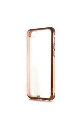 Nokta Apple Iphone 7 Arkası Şeffaf Mat Sert Renkli Plastik  Kılıf ve Ekran Koruyucu 0