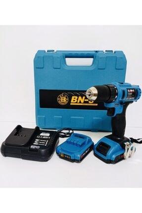 BN5 Banco Bn-5 24 V 5 Ah Hd Li-on Lityum Çift Akülü Şarjlı Matkap Seti 0