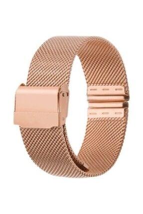 Hasırcılar Hasır Çelik Rose Renk  Saat Kordonu 18mm 0
