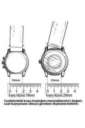 Hasırcılar Hasır Çelik Rose Renk  Saat Kordonu 18mm 1
