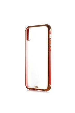 Dijimedia Apple Iphone Xr 6.1 Arkası Şeffaf Mat Sert Renkli Plastik Kapak ve Ekran Koruyucu 0