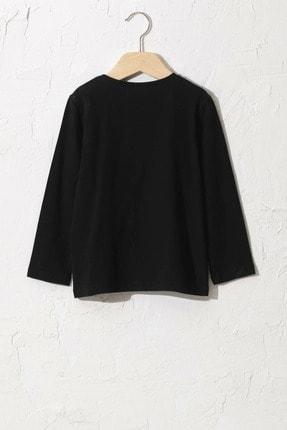 LC Waikiki Kız Çocuk Yeni Siyah Cvl T-Shirt 1