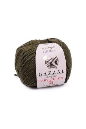 Gazzal Baby Cotton 25 El Örgü Ipi 25 Gr 3463 0