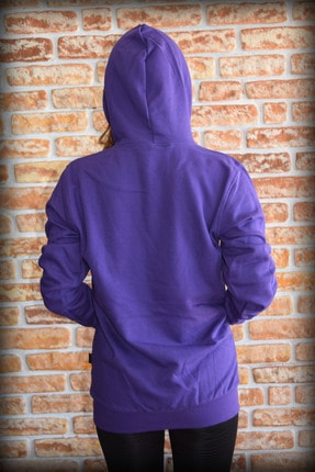 YGMR Fashion Kadın Mor Sweatshirt Gknpurple321 3