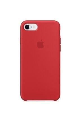 Apple Iphone 7/8 Silikon Kılıf Kırmızı 0