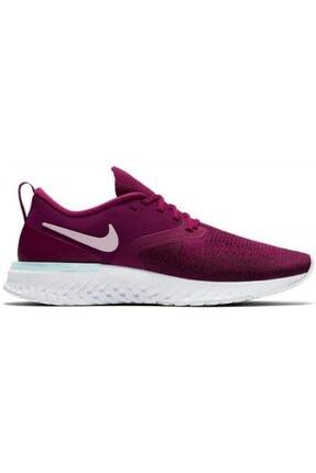 Nike Kadın Mor Odyssey React 2 Flyknit Spor Ayakkabısı 0