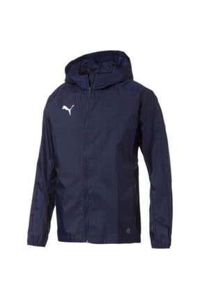 Puma Erkek Lacivert Lıga Traınıng Raın Jacket Yağmurluk 0