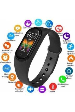 Kingboss M5 Akıllı Bileklik, Ateş Ölçer,smart, Adım Sayar, Nabız Ölçer, Android Ve Ios Bağlantılı Akıllı Saat 4